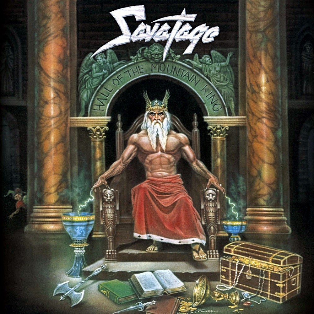 Savatage - Hall of the Mountain King (1987) Cover
