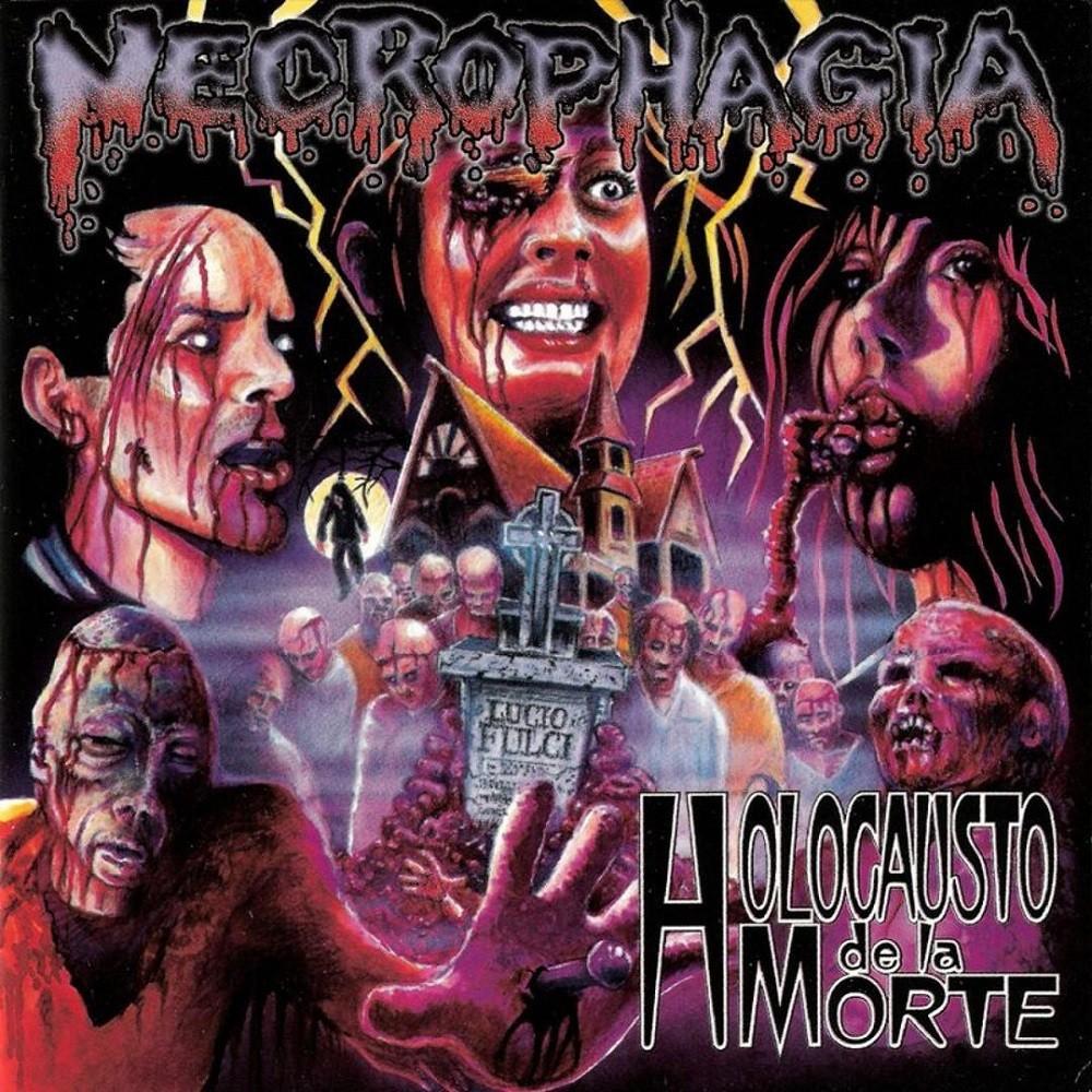 Necrophagia - Holocausto de la morte (1998) Cover