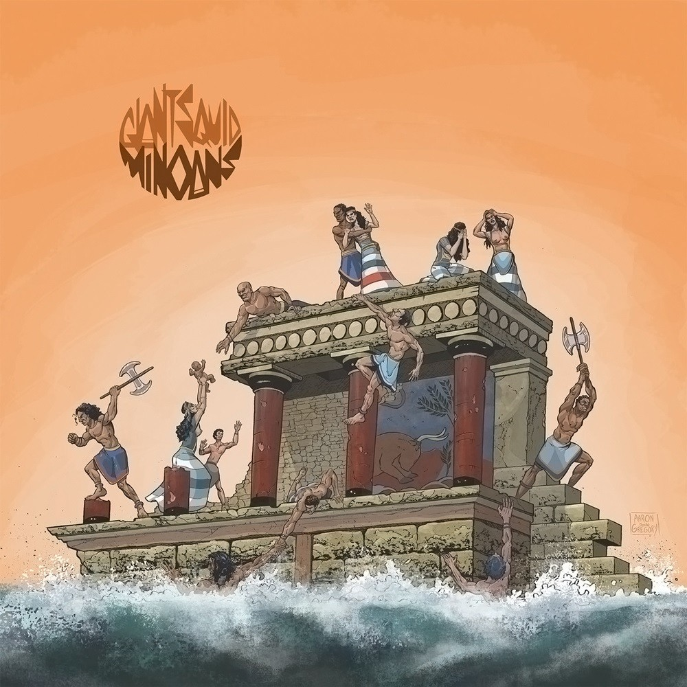 Giant Squid - Minoans (2014) Cover