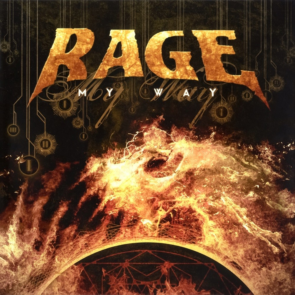Rage - My Way (2016) Cover