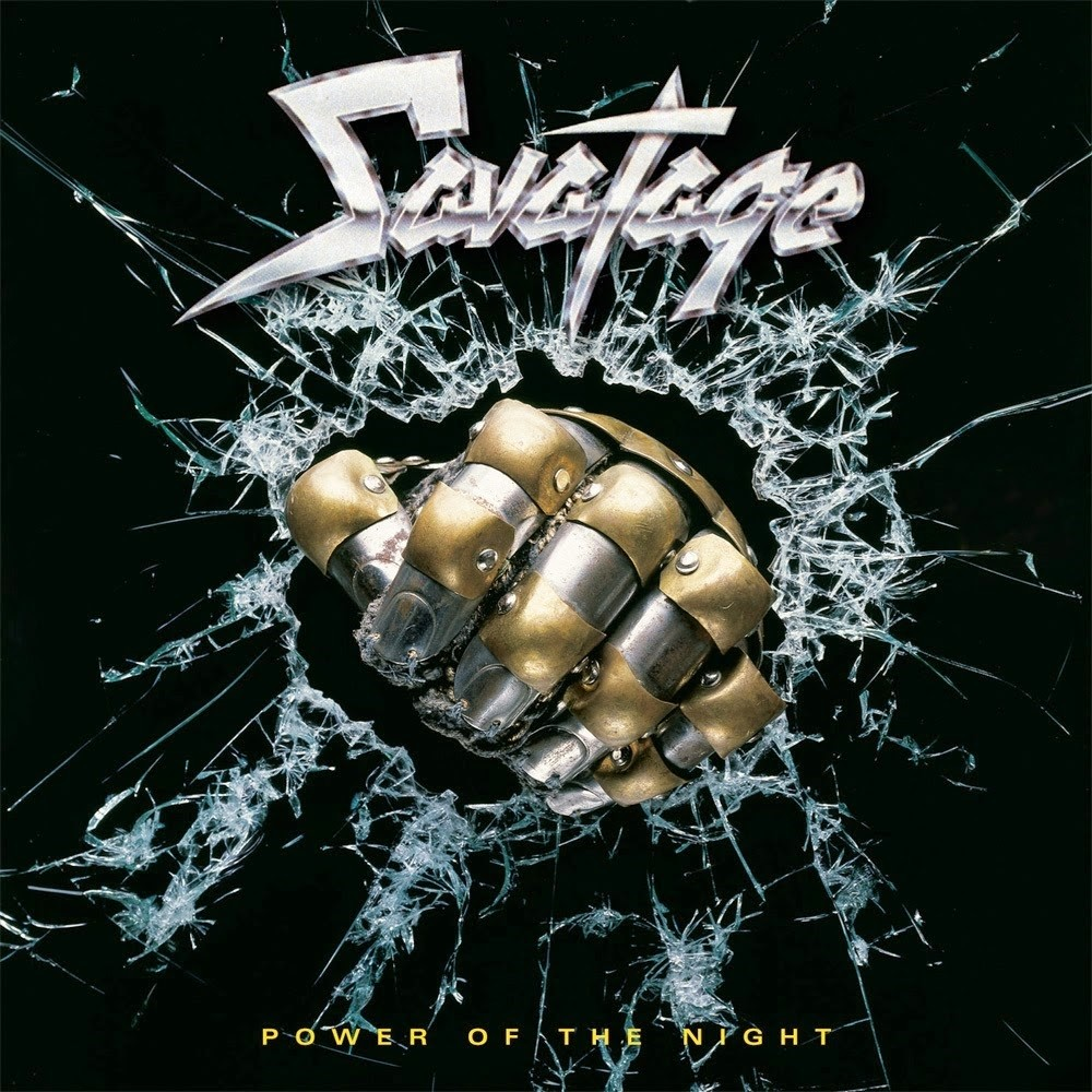 Savatage - Power of the Night (1985) Cover
