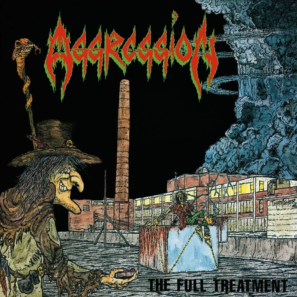 Aggression - The Full Treatment (1987) Cover