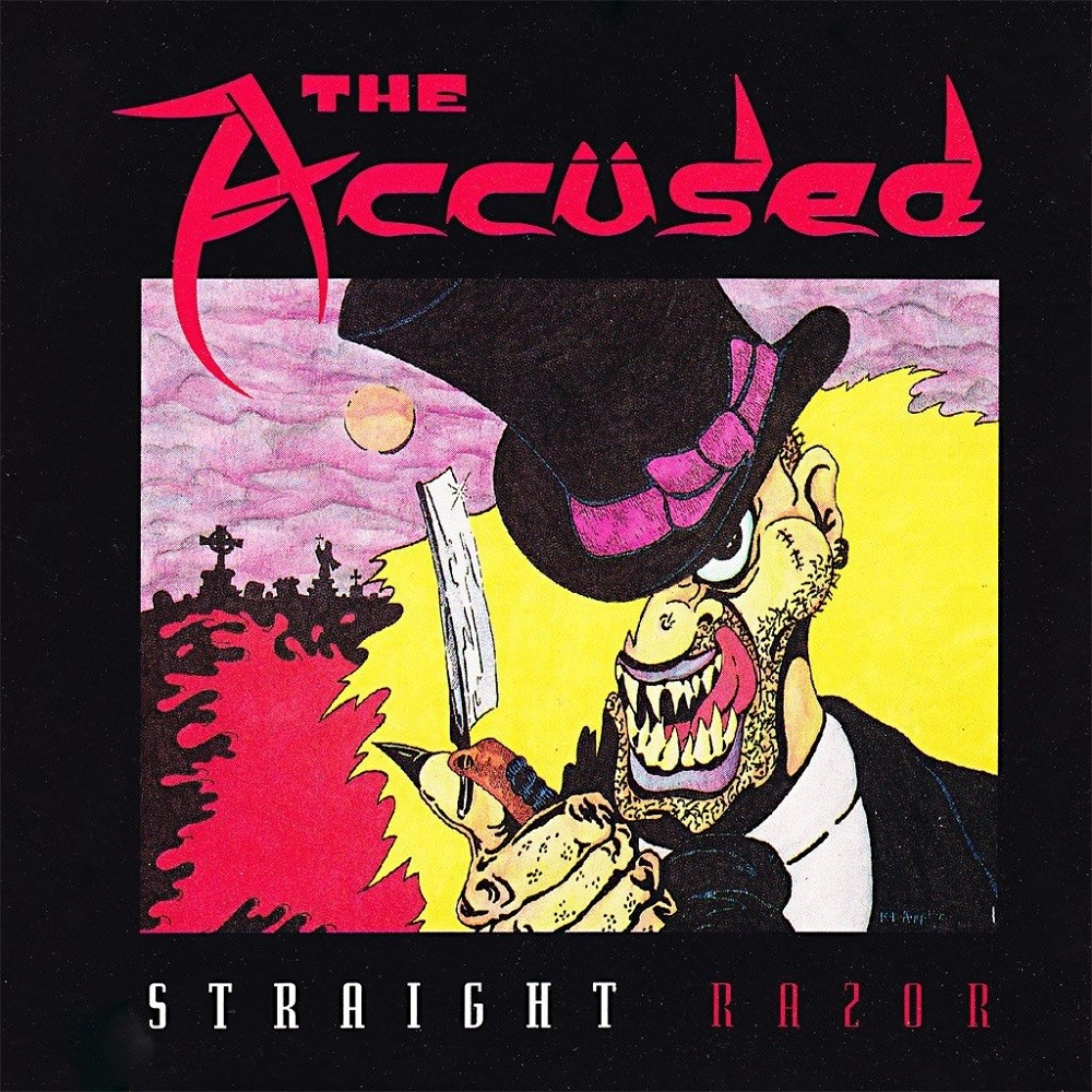 Accüsed, The - Straight Razor (1991) Cover
