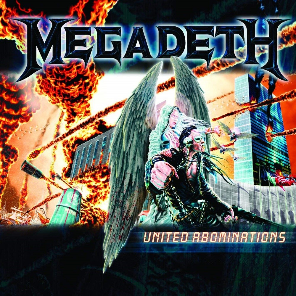 Megadeth - United Abominations (2007) Cover