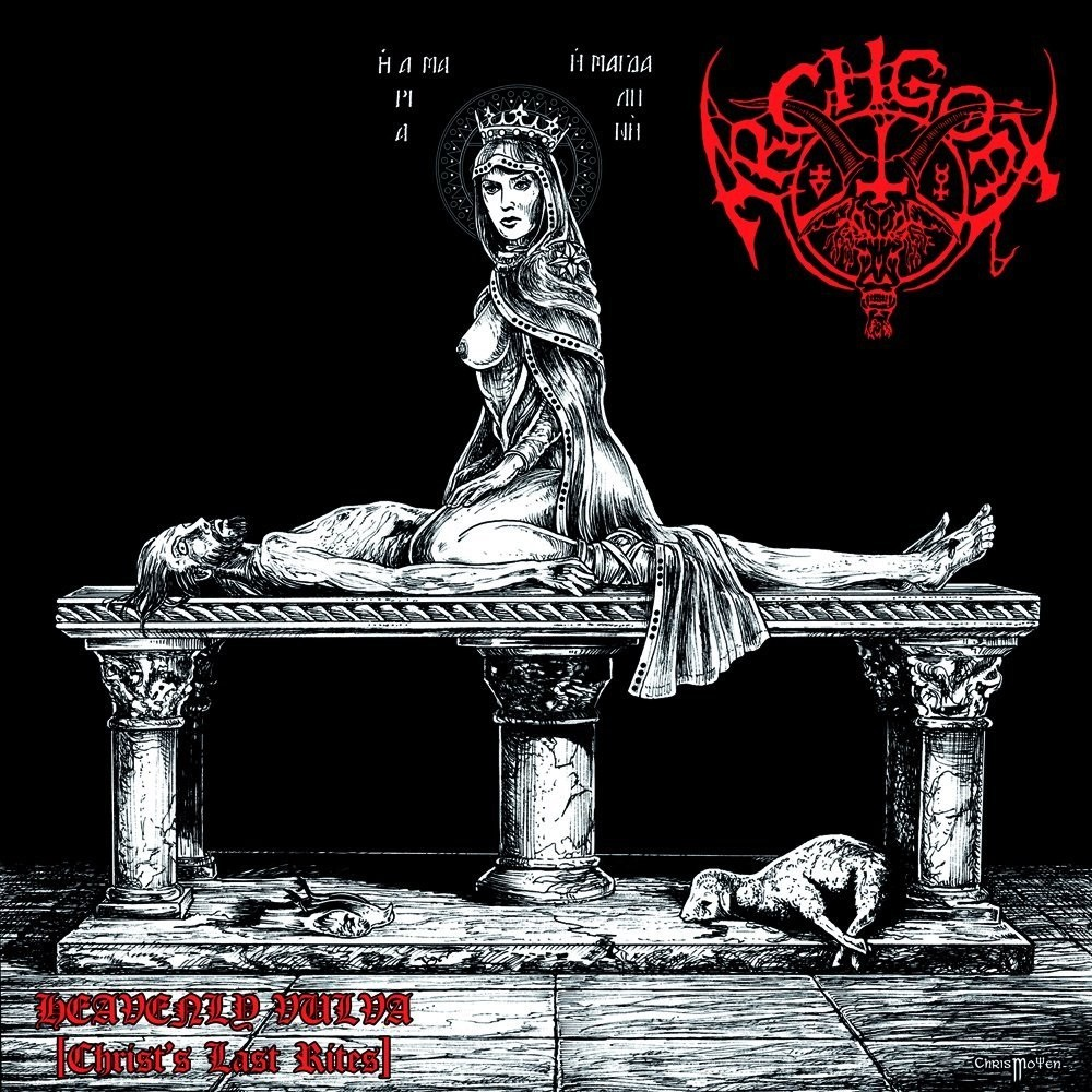 Archgoat - Heavenly Vulva (Christ's Last Rites) (2011) Cover