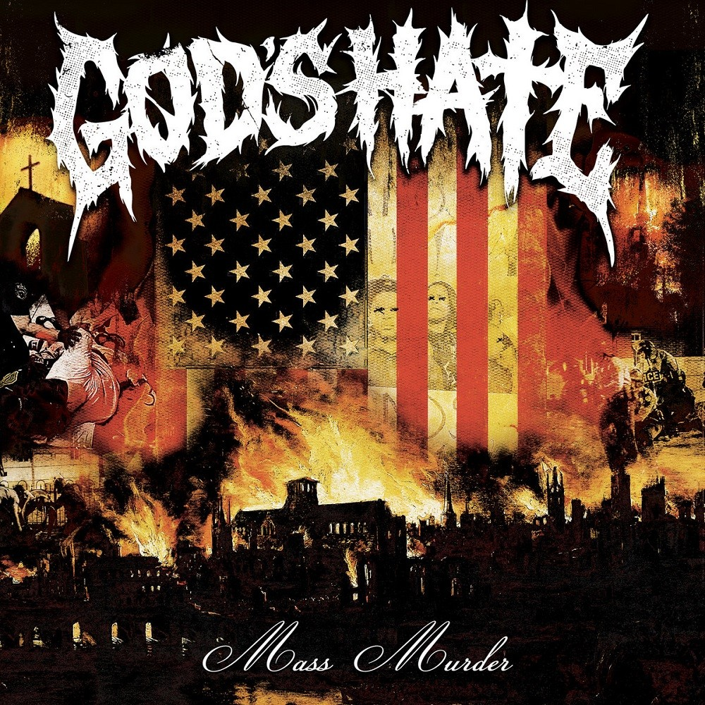 God's Hate - Mass Murder (2016) Cover