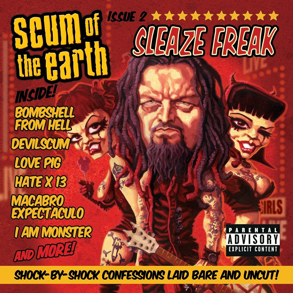 Scum of the Earth - Sleaze Freak (2007) Cover