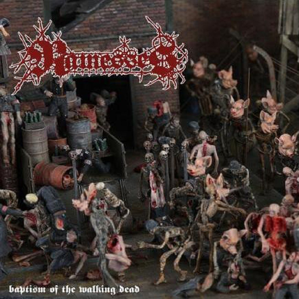 Ramesses - Baptism of the Walking Dead (2009) Cover
