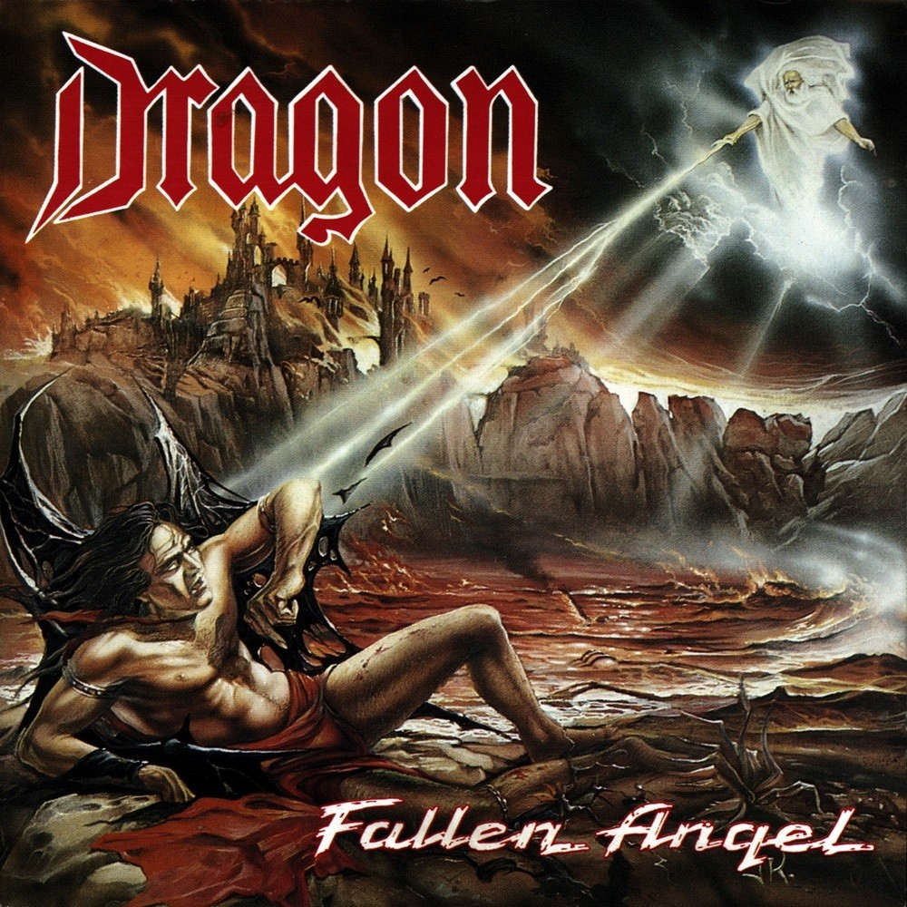 Dragon - Fallen Angel (1990) Cover