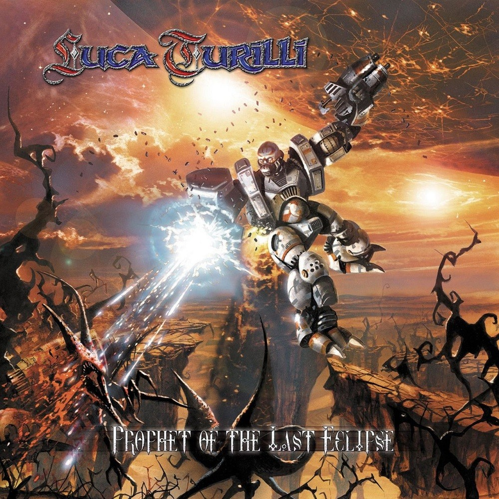 Luca Turilli - Prophet of the Last Eclipse (2002) Cover