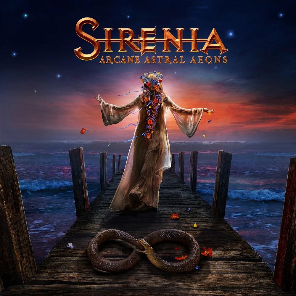 Sirenia - Arcane Astral Aeons (2018) Cover