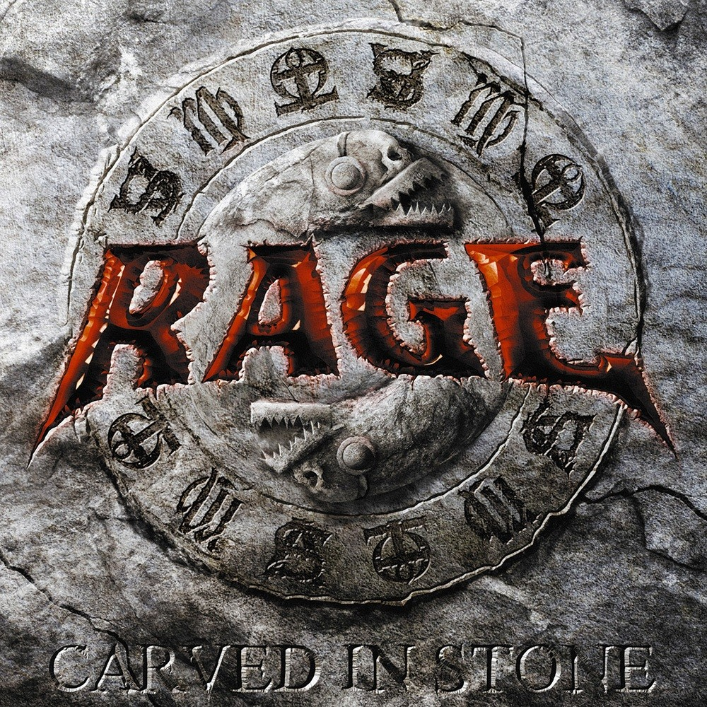 Rage - Carved in Stone (2008) Cover
