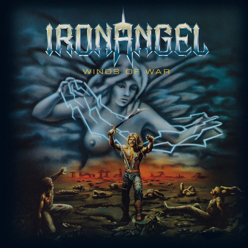 Iron Angel - Winds of War (1986) Cover