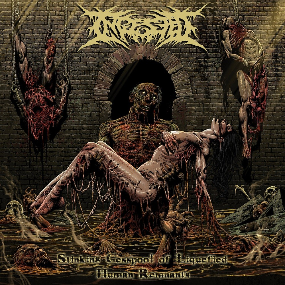 Ingested - Stinking Cesspool of Liquified Human Remnants (2021) Cover