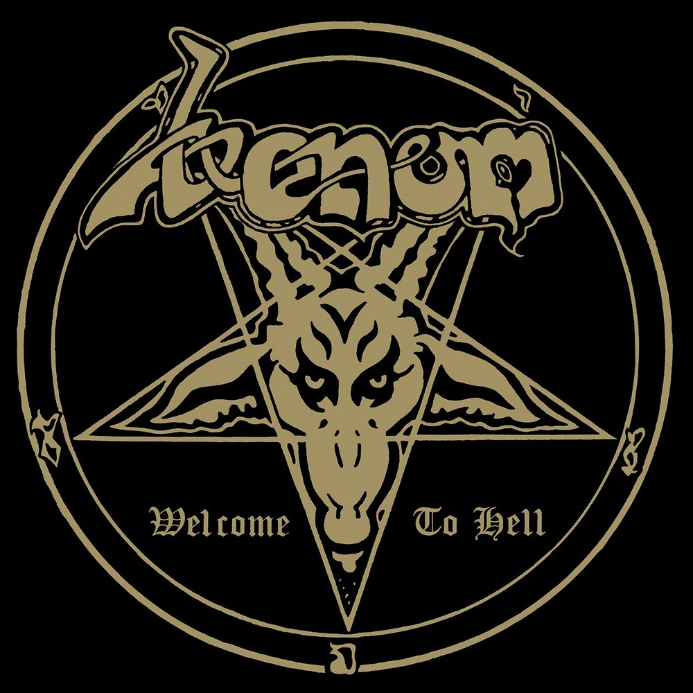 Venom - Welcome to Hell (1981) Cover
