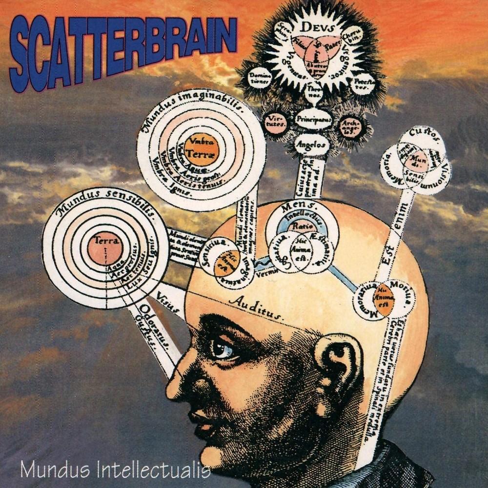 Scatterbrain - Mundus Intellectualis (1994) Cover