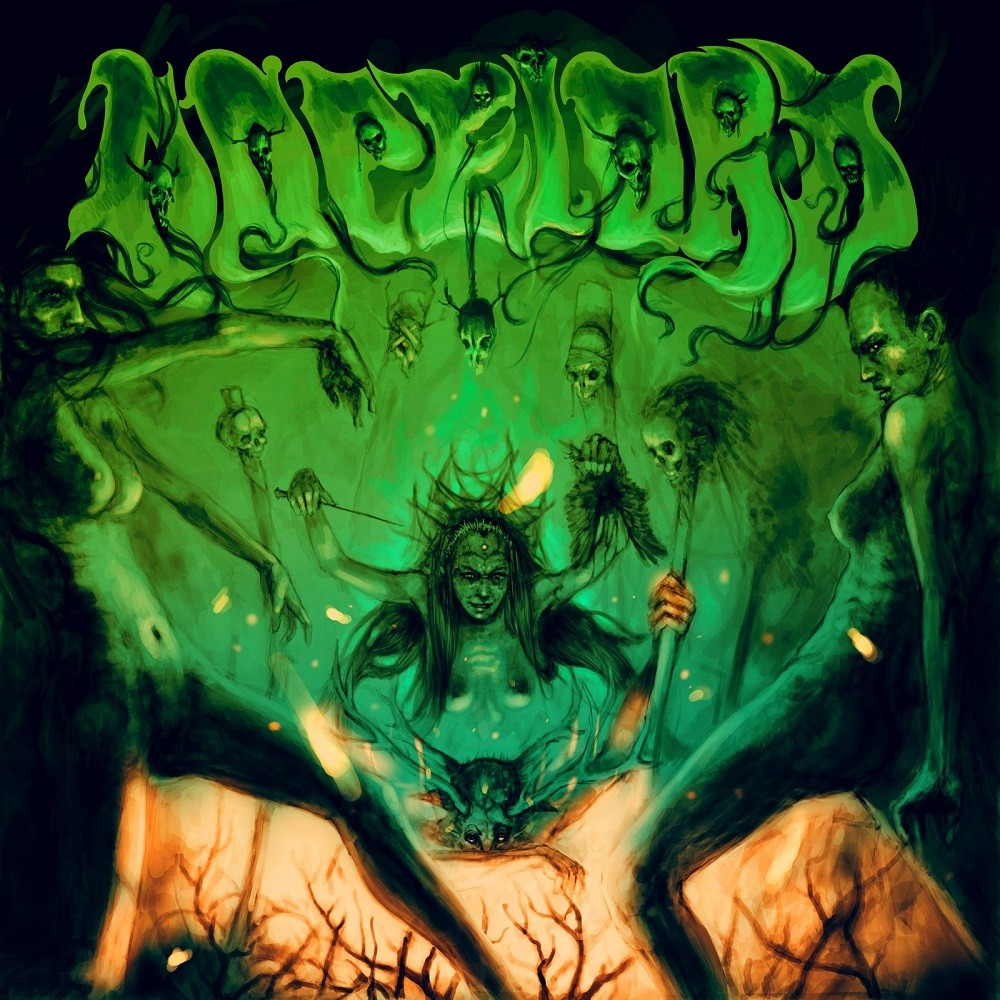 Dopelord - Magick Rites (2012) Cover