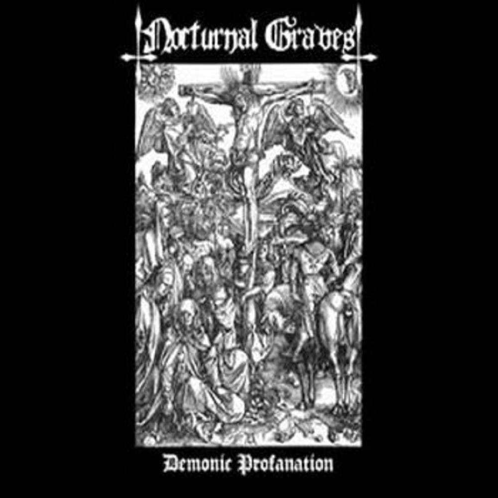 Nocturnal Graves - Demonic Profanation (2006) Cover