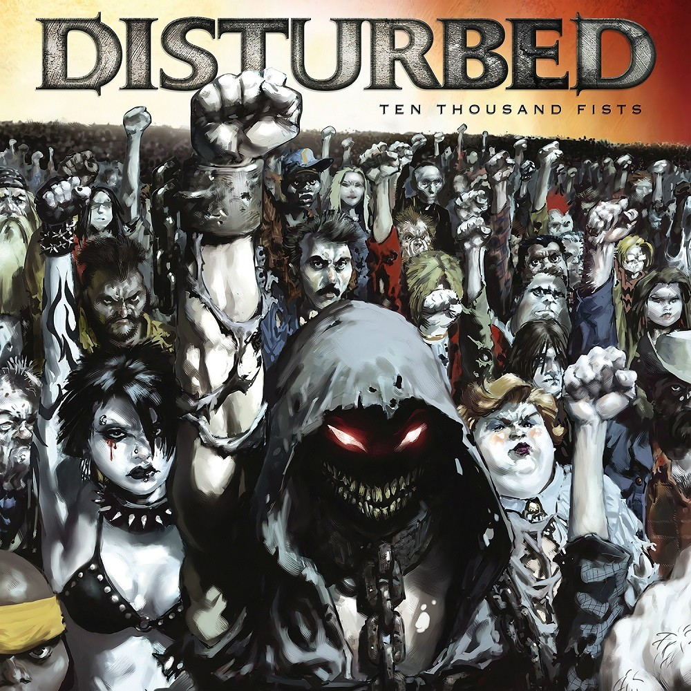 Disturbed - Ten Thousand Fists (2005) Cover