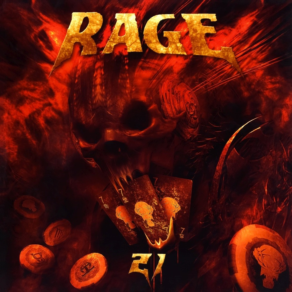 Rage - 21 (2012) Cover