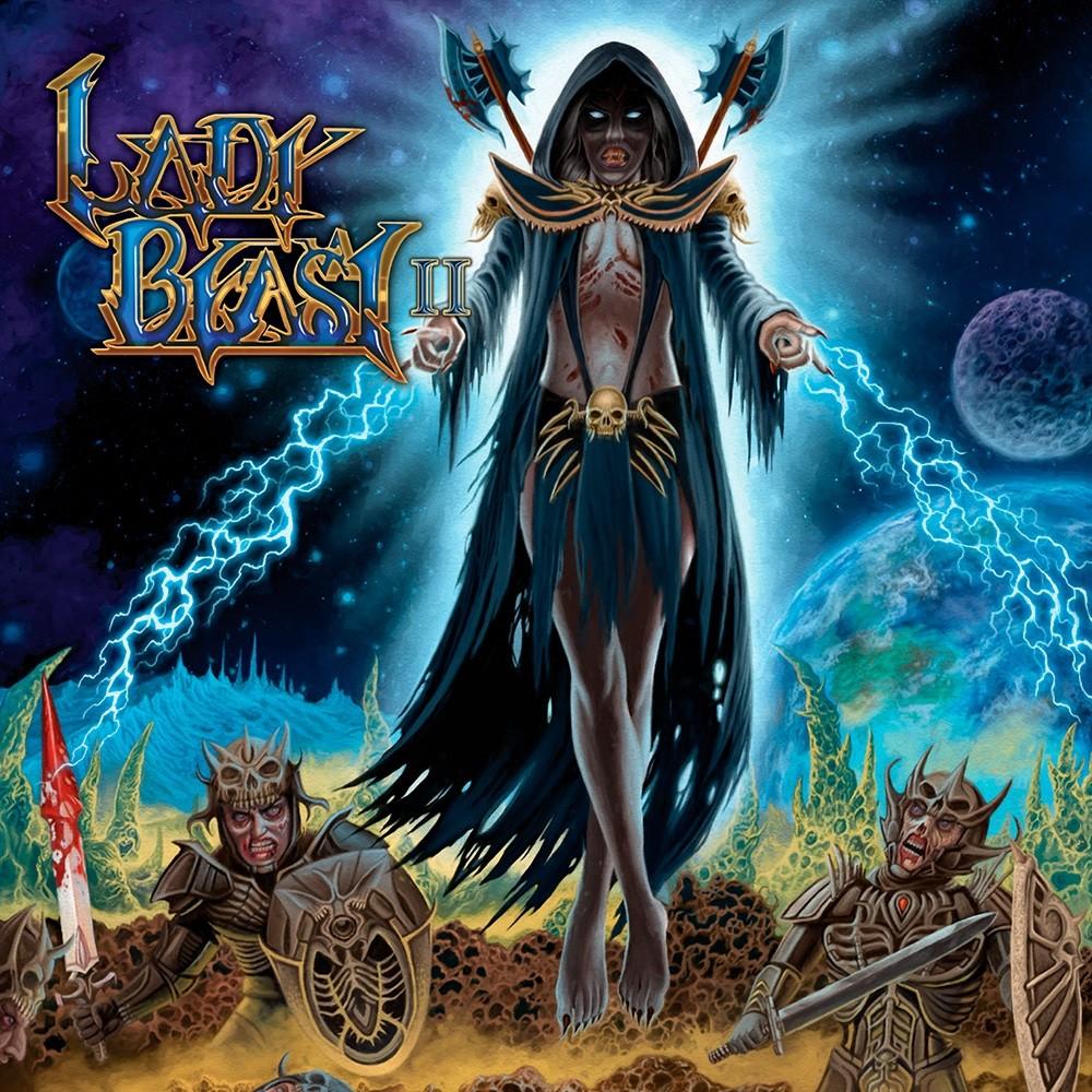 Lady Beast - II (2015) Cover