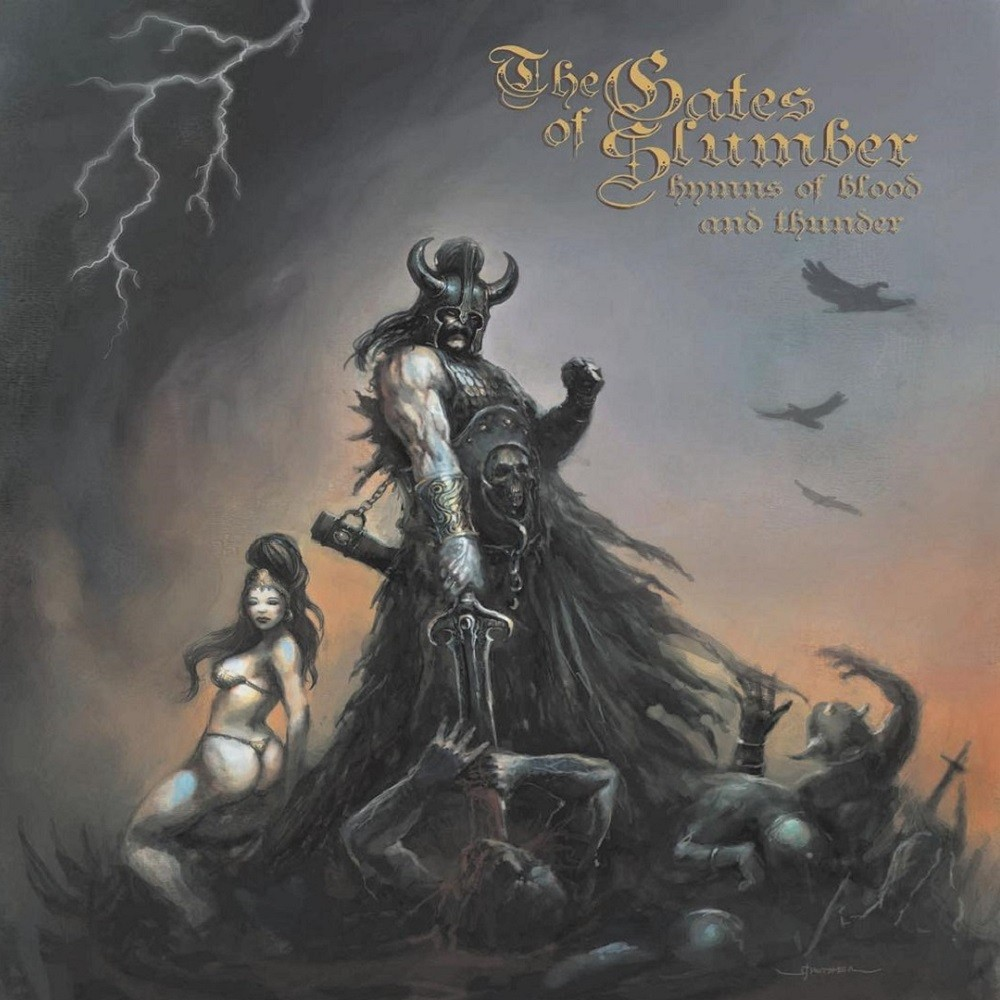 Gates of Slumber, The - Hymns of Blood and Thunder (2009) Cover