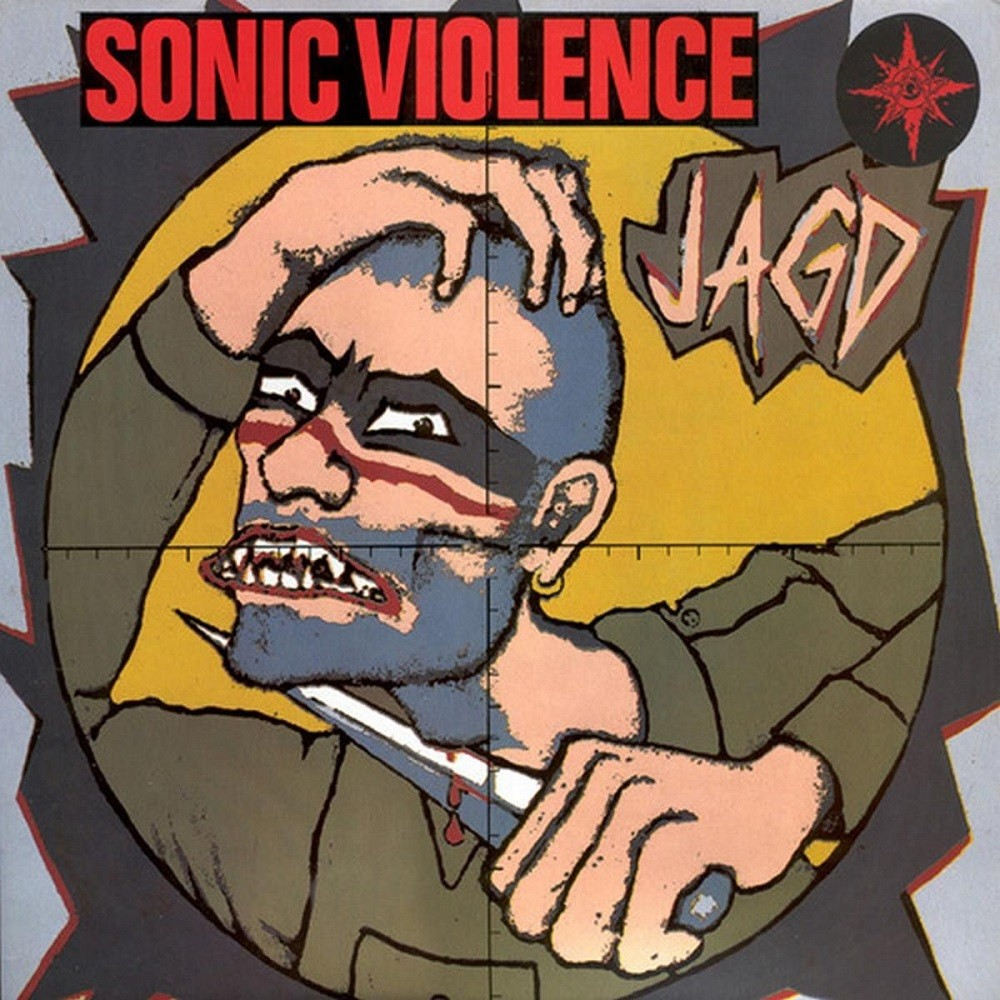 Sonic Violence - Jagd (1990) Cover