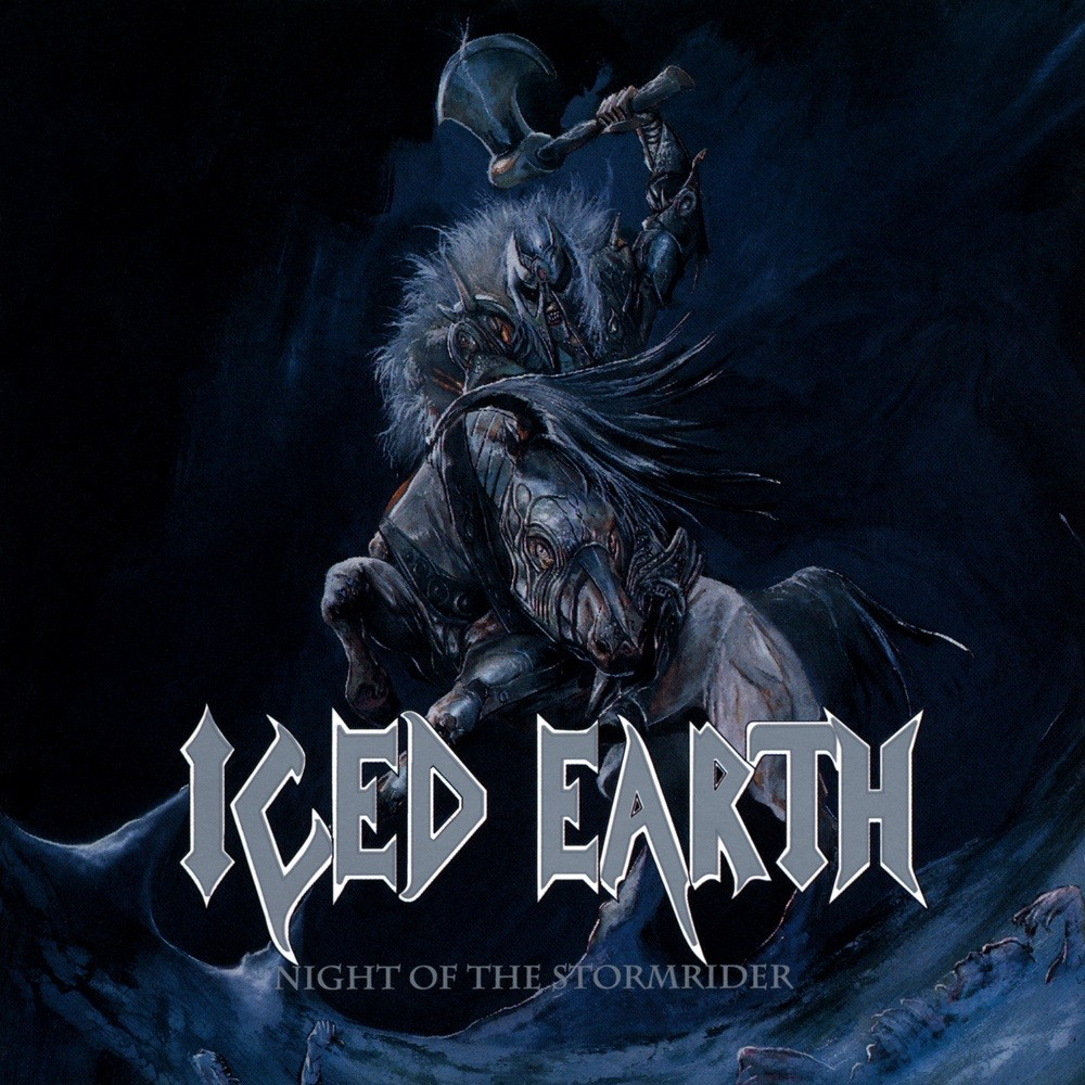 Iced Earth - Night of the Stormrider (1991) Cover