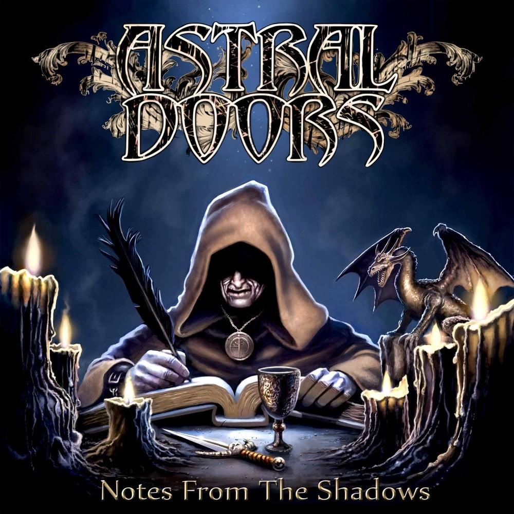 Astral Doors - Notes From the Shadows (2014) Cover