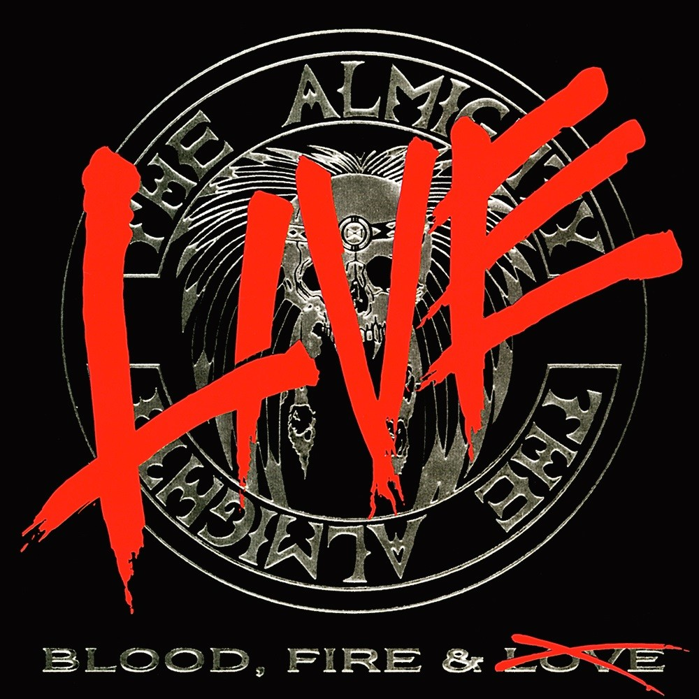 Almighty, The - Blood, Fire & Live (1990) Cover
