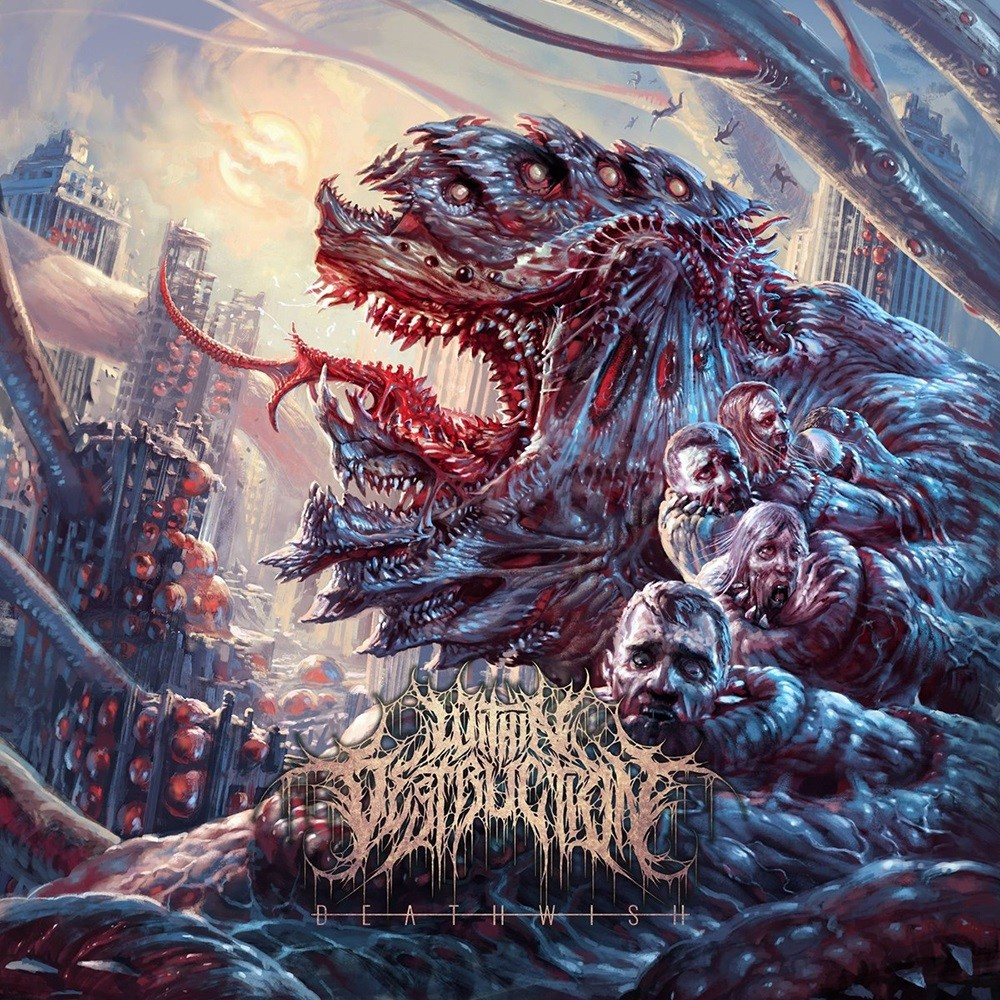 Within Destruction - Deathwish (2018) Cover