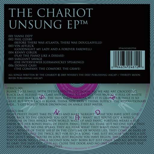 Chariot, The - Unsung EP 2005