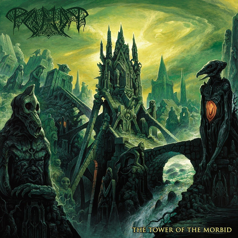 Paganizer - The Tower of the Morbid (2019) Cover