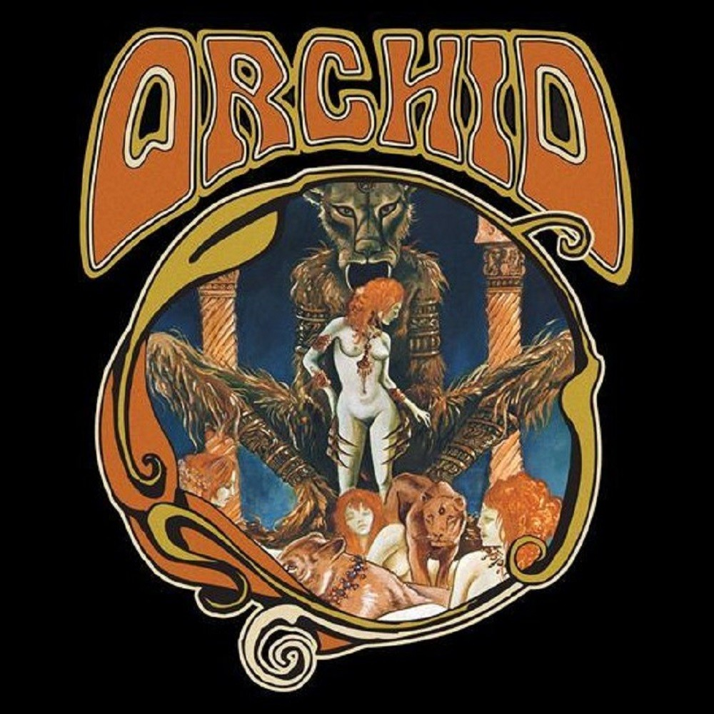 Orchid - Orchid (2009) Cover