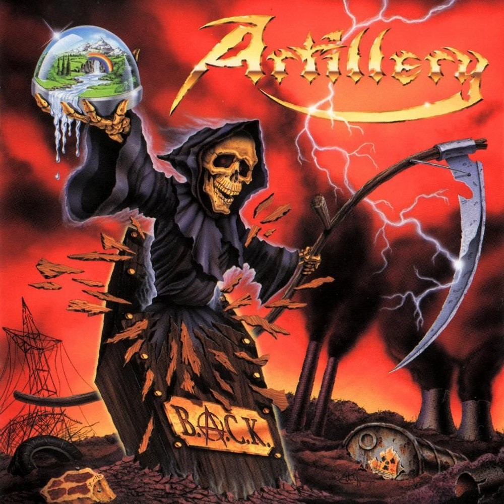 Artillery - B.A.C.K. (1999) Cover