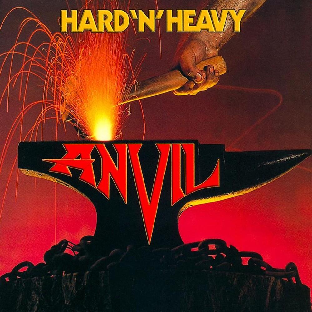 Anvil - Hard 'n' Heavy (1981) Cover