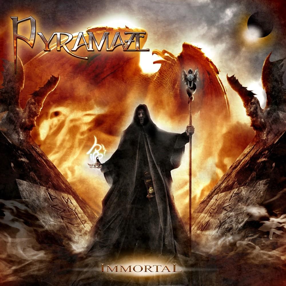 Pyramaze - Immortal (2008) Cover