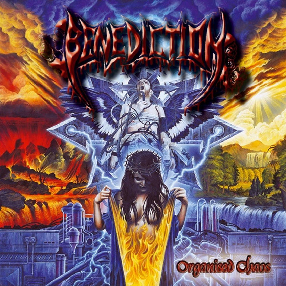 Benediction - Organised Chaos (2001) Cover