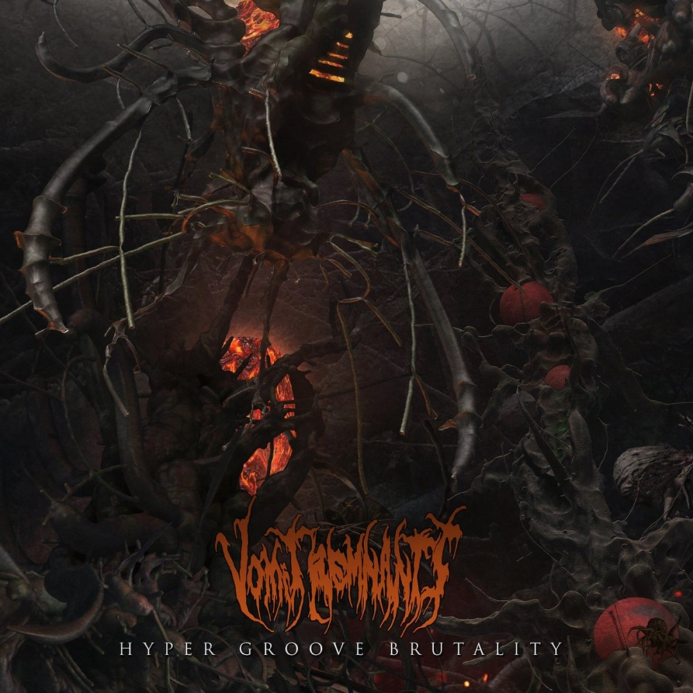Vomit Remnants - Hyper Groove Brutality (2017) Cover