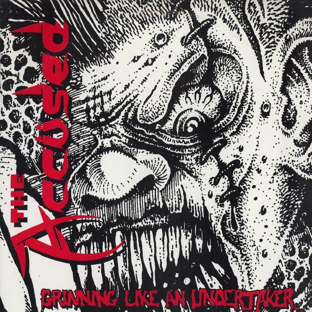 Accüsed, The - Grinning Like an Undertaker (1990) Cover