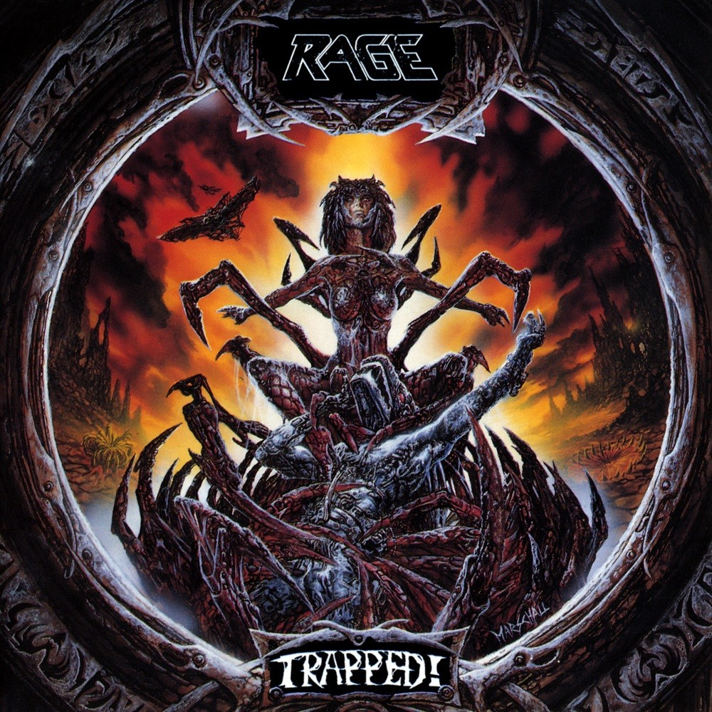 Rage - Trapped! (1992) Cover