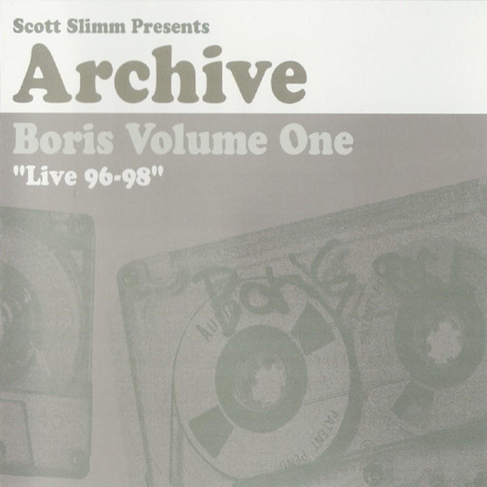 Boris - Archive Volume One - Live 96-98 (2005) Cover
