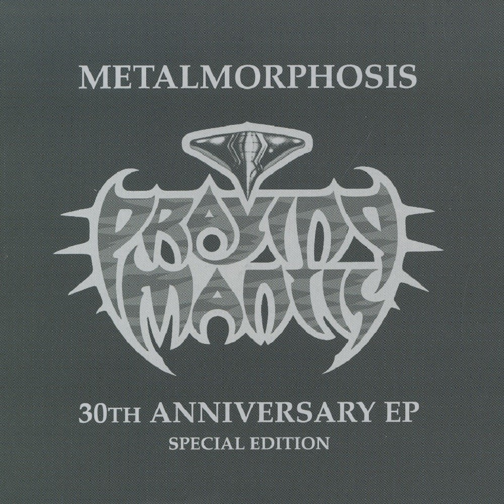 Praying Mantis - Metalmorphosis (2011) Cover