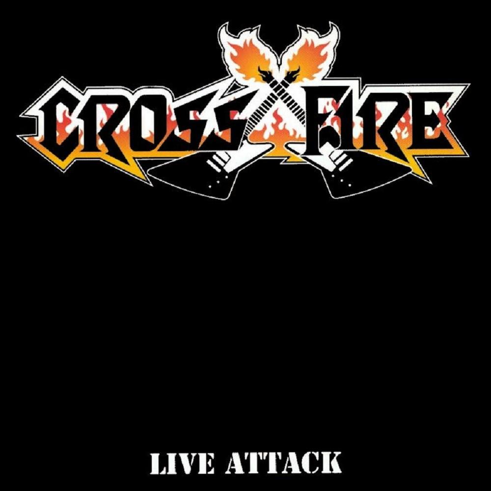 Crossfire - Live Attack (1987) Cover