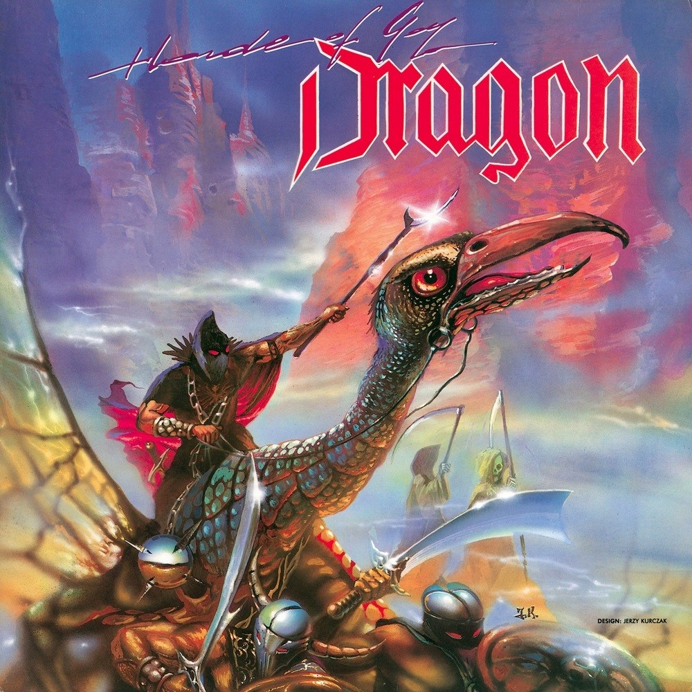 Dragon - Horda Goga (1989) Cover