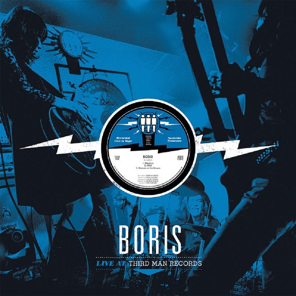 Boris - Live at Third Man Records (2017) Cover