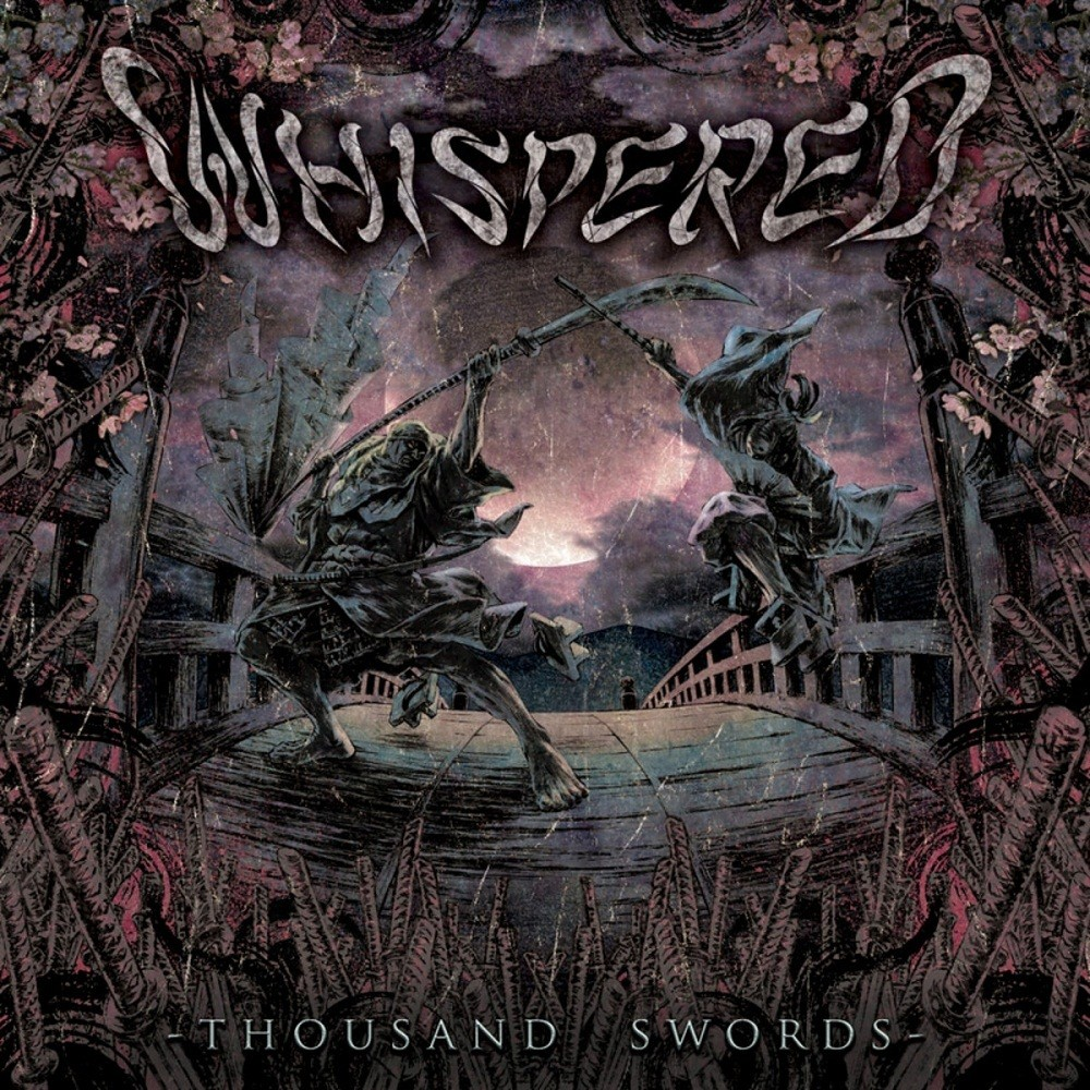 Whispered - Thousand Swords (2010) Cover