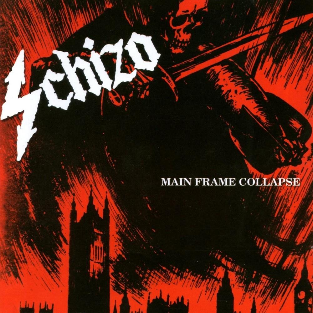Schizo - Main Frame Collapse (1989) Cover
