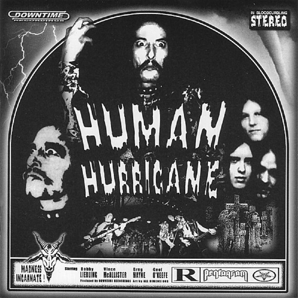 Pentagram (USA) - Human Hurricane (1998) Cover