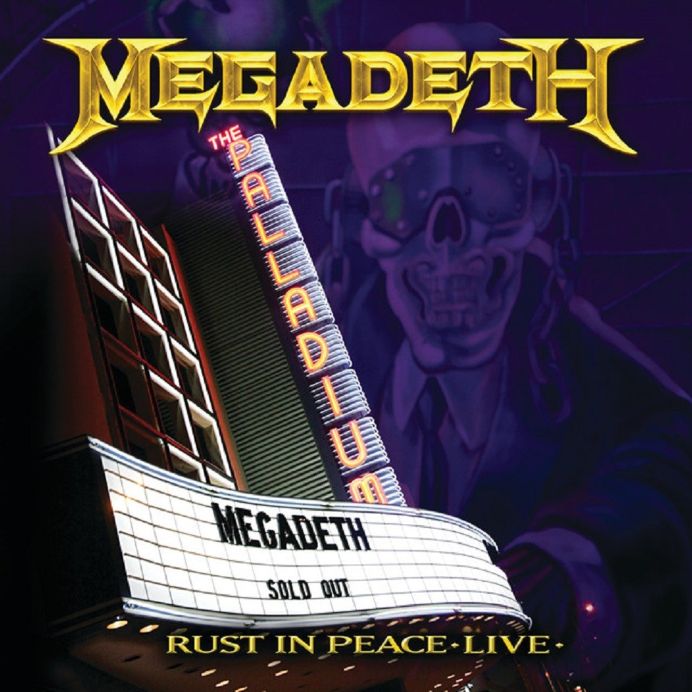Megadeth - Rust in Peace Live (2010) Cover